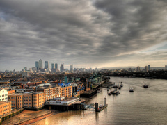 London cityscape, London