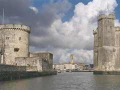 La Rochelle Harbour entrance, La Rochelle