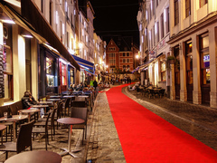 Rue des restaurants, Brussels