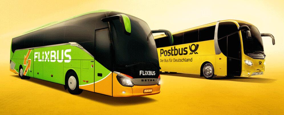Fernbus - Busunternehmen in Deutschland | ComparaBUS.com