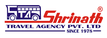 Logo Shrinath Travels bus company India