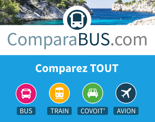 ComparaBUS comparateur de transport bus, train, covoiturage, avion et vols