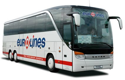 Eurolines bus company Europe cheap bus tickets
