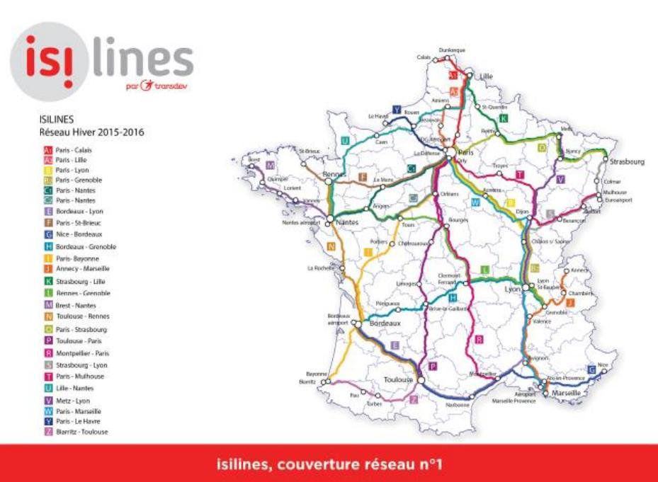 isilines - billets de bus pas chers | comparabus