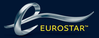 Logo Eurostar compagnie de train low cost France Paris Londres