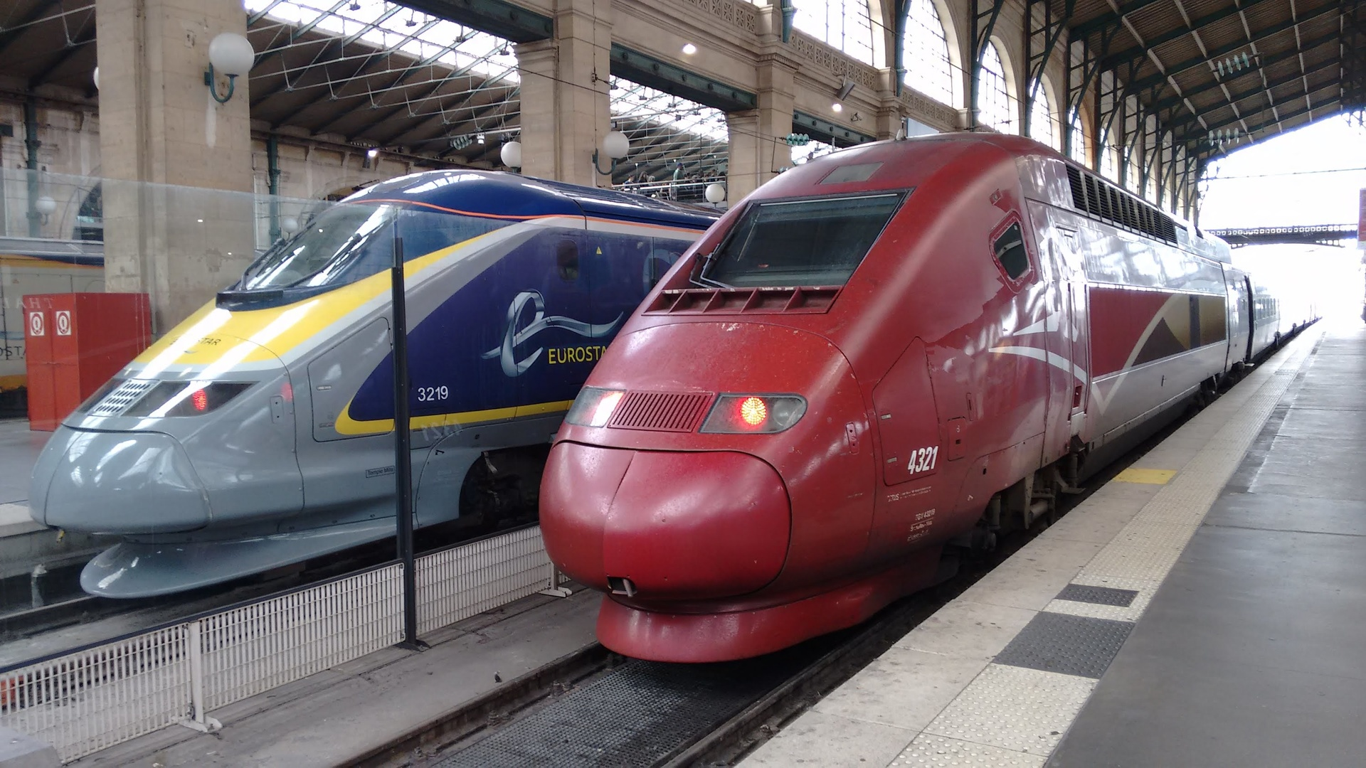 Train Greenspeed - fusion de Thalys et Eurostar