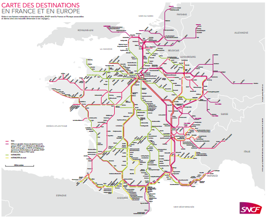 SNCF - Compagnie de train en France & Europe | ComparaBUS.com