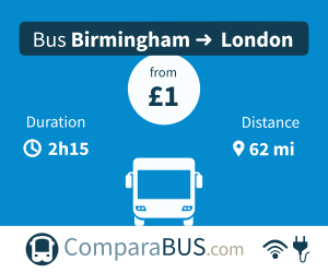 cheap coach birmingham to london