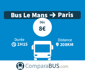 bus le mans paris pas cher d s 9. Black Bedroom Furniture Sets. Home Design Ideas