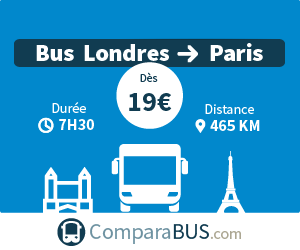 bus londres paris pas cher