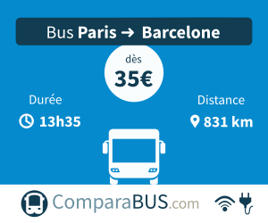 bus paris barcelone pas cher