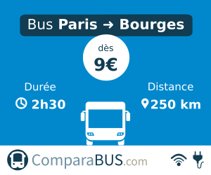 bus Paris Bourges pas cher