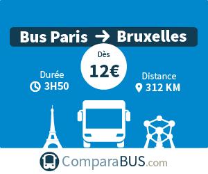 bus paris bruxelles pas cher d s 10. Black Bedroom Furniture Sets. Home Design Ideas