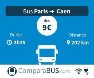 bus paris caen pas cher d s 5. Black Bedroom Furniture Sets. Home Design Ideas