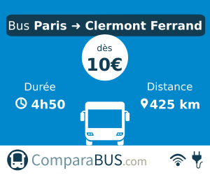 bus paris clermont-ferrand pas cher