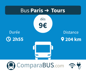 bus paris tours pas cher