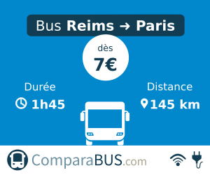 bus reims paris pas cher