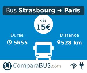 bus strasbourg paris pas cher d s 12. Black Bedroom Furniture Sets. Home Design Ideas