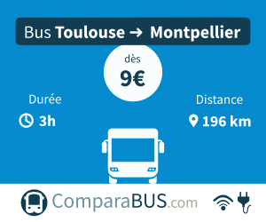 bus toulouse montpellier pas cher