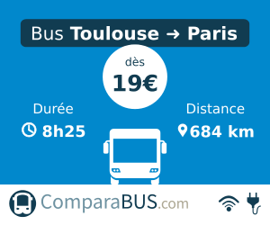 bus toulouse paris pas cher