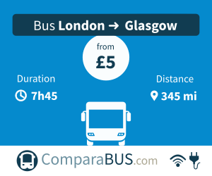 cheap bus london to glasgow