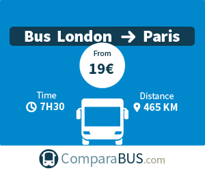bus london paris cheap tickets from 13 comparabus com