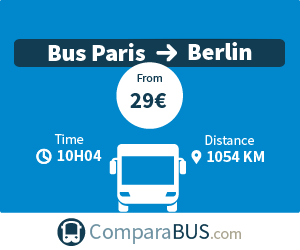 cheap bus paris to berlin