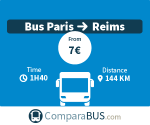 bus paris reims cheap tickets from 1. Black Bedroom Furniture Sets. Home Design Ideas