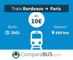 Train bordeaux paris pas cher
