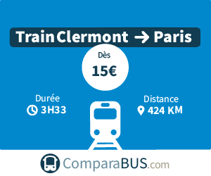 Train clermont ferrand paris pas cher d s 15 for Garage pas cher clermont ferrand