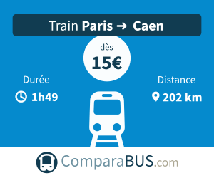 Train paris caen pas cher