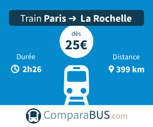 Train paris la-rochelle pas cher