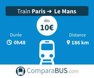 Train paris le-mans pas cher