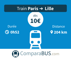 train Paris Lille pas cher