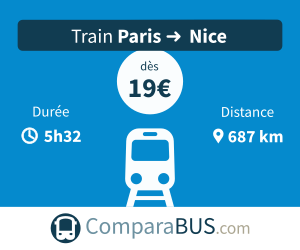 Train paris nice pas cher