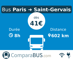 bus Paris Saint Gervais